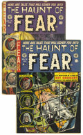 Golden Age (1938-1955):Horror, Haunt of Fear #16 and 17 Group (EC, 1952).... (Total: 2 ComicBooks)