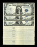 Small Size:Silver Certificates, Fr. 1608 $1 1935A Silver Certificates. Ninety-nine Consecutive Examples. Choice Crisp Uncirculated.. ... (Total: 99 notes)