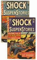 Golden Age (1938-1955):Horror, Shock SuspenStories #9 and 11 Group (EC, 1953) Condition: AverageVG-.... (Total: 2 Comic Books)