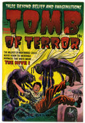 Golden Age (1938-1955):Horror, Tomb of Terror #8 File Copy (Harvey, 1953) Condition: VF+....