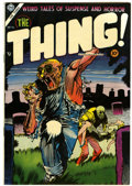 Golden Age (1938-1955):Horror, The Thing! #16 (Charlton, 1954) Condition: Apparent VF....