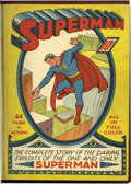 Golden Age (1938-1955):Superhero, Superman #1-12 Bound Volume (DC, 1939-41)....