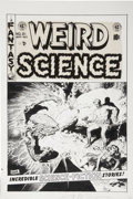 Original Comic Art:Covers, Wally Wood Weird Science #21 Cover Original Art (EC, 1953)....
