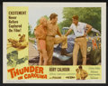 "Movie Posters:Sports, Thunder in Carolina (Howco, 1960). Lobby Card Set of 8 (11"" X 14""). Sports.... (Total: 8 Items)"