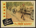 """Movie Posters:Documentary, The True Glory Lot (Columbia, 1945). Lobby Cards (7) and British Lobby Card (11"""" X 14""""). World War II Documentary.... (Total: 8 Items)"""