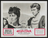 """Electra (United Artists, 1963). Lobby Card Set of 8 (11"""" X 14""""). Drama.... (Total: 8 Items)"""