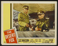 "Movie Posters:War, The Desert Fox Lot (20th Century Fox, 1951). Lobby Cards (7) andTitle Lobby Card (11"" X 14""). War.... (Total: 8 Items)"