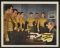 "Movie Posters:War, We Are The Marines Lot (20th Century Fox, 1942). Lobby Cards (8)(11"" X 14""). War.... (Total: 8 Items)"