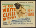 "Movie Posters:War, The White Cliffs of Dover Lot (MGM, 1944). Title Lobby Cards (2)and Lobby Cards (6) (11"" X 14""). War.... (Total: 8 Items)"