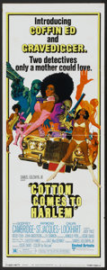 "Movie Posters:Blaxploitation, Cotton Comes to Harlem (United Artists, 1970). Insert (14"" X 36""). Blaxploitation...."