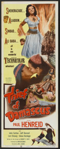 "Movie Posters:Adventure, The Thief of Damascus (Columbia, 1952). Insert (14"" X 36"").Adventure...."