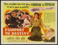 "Movie Posters:Comedy, Passport to Destiny (RKO, 1944). Half Sheet (22"" X 28"") Style A. Comedy...."