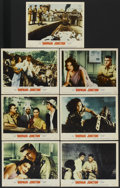 """Movie Posters:Drama, Bhowani Junction (MGM, 1956). Lobby Cards (7) (11"""" X 14""""). Drama.. ... (Total: 7 Items)"""