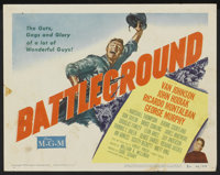 "Battleground (MGM, 1949). Lobby Card Set of 8 (11"" X 14""). War.... (Total: 8 Items)"