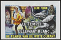 "Movie Posters:Adventure, Temple of the White Elephant (American International, 1964).Belgian (14.25"" X 21.5""). Adventure...."