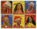 Memorabilia:Trading Cards, American Indian Vintage Trading Cards Group (Goudey, 1933)....(Total: 52 Items)
