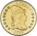 Early Eagles, 1799 $10 Small Stars Obverse--Mount Removed, Improperly Cleaned--NCS. AU Details....