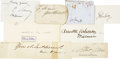"""Autographs:Statesmen, Nineteenth and Early Twentieth Century Statesman Group of EightSignatures signed on cards and paper from 3.25"""" x 2"""". Signat..."""
