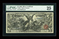 Large Size:Silver Certificates, Fr. 268 $5 1896 Silver Certificate PMG Very Fine 25....
