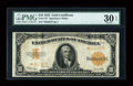 Large Size:Gold Certificates, Fr. 1173 $10 1922 Gold Certificate Star Note PMG Very Fine 30EPQ....
