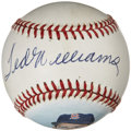 Autographs:Baseballs, Ted Williams Single Signed Portrait Baseball....