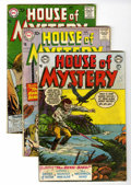 Silver Age (1956-1969):Horror, House of Mystery Group (DC, 1953-81) Condition: Average VG-....(Total: 46 Comic Books)