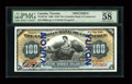 Canadian Currency: , Toronto, ON- The Canadian Bank of Commerce $100 1898 Ch. 75-14-57SbSpecimen. ...
