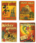 Platinum Age (1897-1937):Miscellaneous, Mickey Mouse Big Little Book Group (Whitman, 1933-48) Condition:Average VG.... (Total: 19 Items)