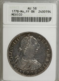 Mexico, Mexico: Charles III Portrait 8 Reales trio,... (Total: 3 coins)