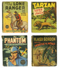 Platinum Age (1897-1937):Miscellaneous, Big Little Book Adventure Group of 25 (Whitman, 1930s) Condition:Average GD.... (Total: 25 Items)