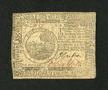 Colonial Notes:Continental Congress Issues, Continental Currency November 2, 1776 $6 Extremely Fine....