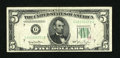Error Notes:Ink Smears, Fr. 1961-G $5 1950 Wide Green Seal Federal Reserve Note. Fine-VeryFine.. ...