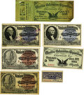 General Historic Events:World Fairs, World's Columbian Exposition: Stamps and Overprinted Tickets....(Total: 7 Items)