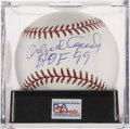 "Autographs:Baseballs, Orlando Cepeda ""HOF 99"" Single Signed Baseball PSA Gem Mint 10. ..."