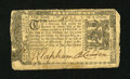 Colonial Notes:Maryland, Maryland January 1, 1767 $1/6 Very Fine....