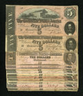 Confederate Notes:Group Lots, Mixed Lot of Confederate Notes. Twelve Examples. Fine or Better..... (Total: 12 notes)
