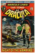 Bronze Age (1970-1979):Horror, Tomb of Dracula #1 (Marvel, 1972) Condition: VG/FN....