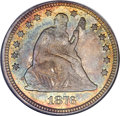 Seated Quarters, 1876 25C MS66 NGC. CAC....