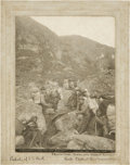 "Western Expansion:Goldrush, Photograph ""Packers on Dyea Trail, Near Stone House,"" 1897...."