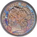 Patterns, 1879 10C Washlady Ten Cents, Judd-1584, Pollock-1777, Low R.6, PR64Cameo PCGS. CAC....