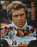 "Movie Posters:Sports, Le Mans (National General, 1971). Gulf Promotional Poster (17"" X 22""). Sports...."