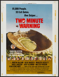 """Two-Minute Warning Lot (Universal, 1976). Posters (3) (30"""" X 40""""). Thriller.... (Total: 3 Items)"""