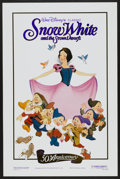 "Movie Posters:Animated, Snow White and the Seven Dwarfs (Buena Vista, R-1987). One Sheet (27"" X 41"") 50th Anniversary Style. Walt Disney Animated...."