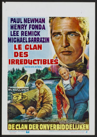 """Sometimes a Great Notion (Universal, 1971). Belgian (14.5"""" X 21""""). Also known as Never Give an Inch. Action..."""