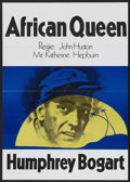 "Movie Posters:Adventure, The African Queen (United Artists, R-1970s). German A1 (23.25"" X33""). Adventure...."