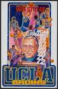Movie Posters:Sports, Basketball Lot (Various, 1969-1972). Posters (5) (Various Sizes). Sports.... (Total: 5 Items)