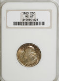 Washington Quarters: , 1963 25C MS67 NGC. NGC Census: (50/0). PCGS Population (7/0).Mintage: 74,300,000. Numismedia Wsl. Price for NGC/PCGS coin ...