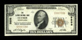 National Bank Notes:Pennsylvania, Clymer, PA - $10 1929 Ty. 1 The Clymer NB Ch. # 9898. ...