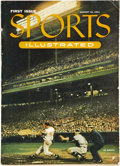 Baseball Collectibles:Publications, 1954 Sports Illustrated Magazine First Issue....