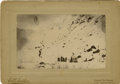 Western Expansion:Goldrush, Photograph: Many Gold Miners Ascending White Pass (Skagway) Alaska,late 1890s....